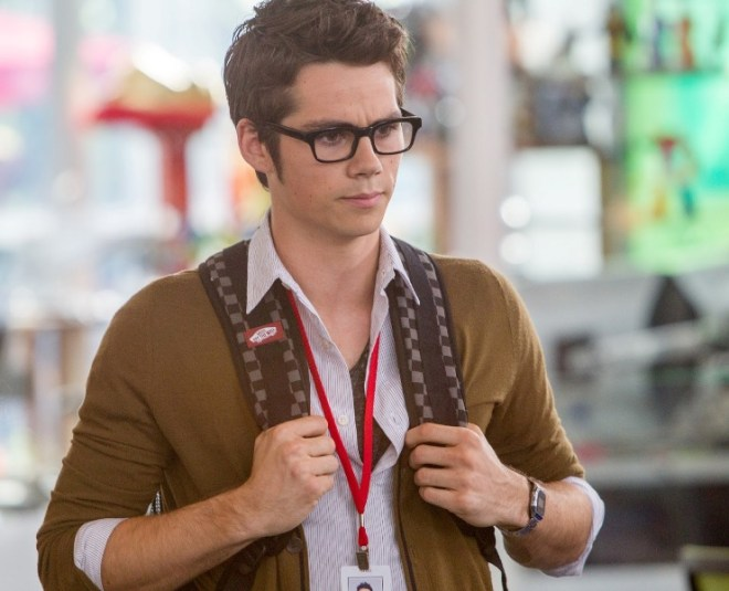 dylan obrien in THE INTERNSHIP
