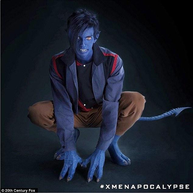 Kodi Smit-McPhee as Nightcrawler X-Men Apocalypse (1)