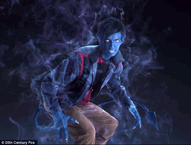 Here's What Kodi Smit-McPhee Looks Like as Nightcrawler for X-Men: Apocalypse
