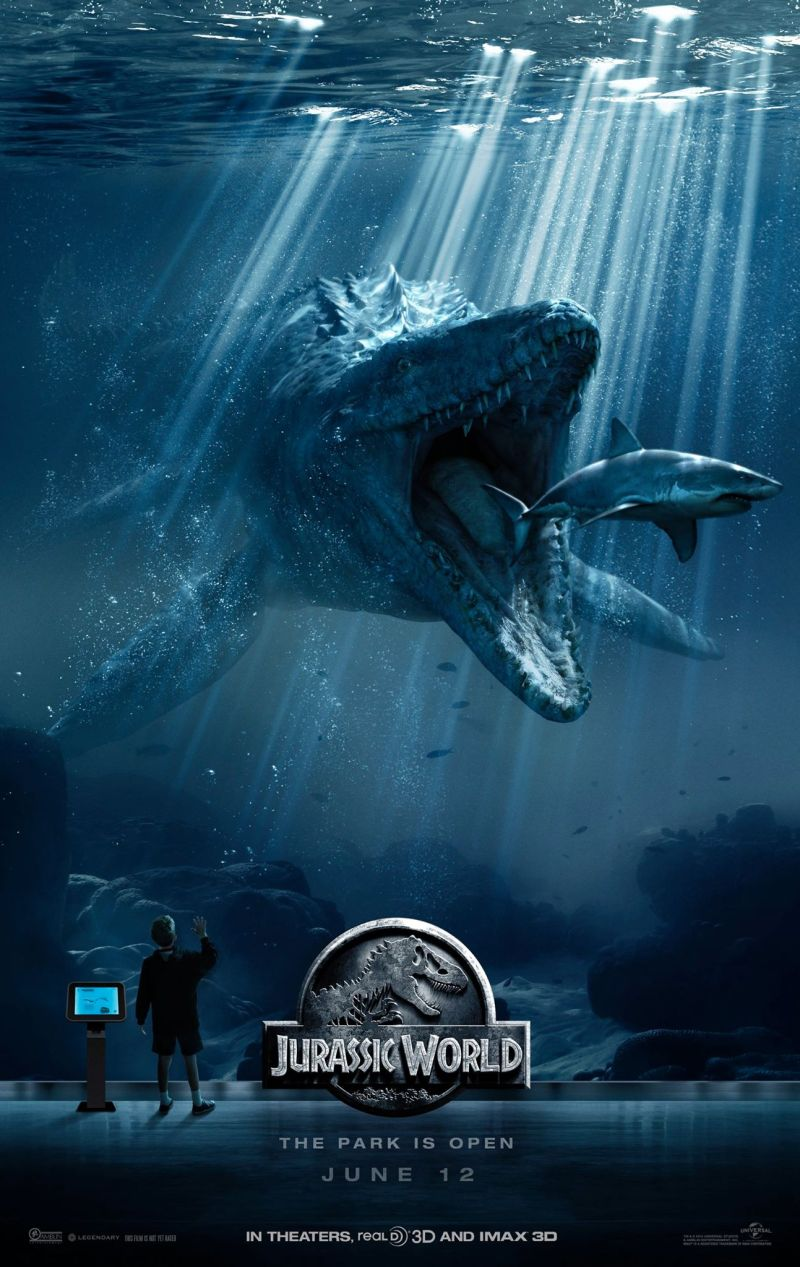 jurassic world its feeding time mosasaurus