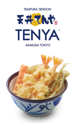 """TENYA"" is a Japanese word which means ""tempura restaurant"". From the restaurant's name itself, you were already given the idea that everything is tempura! Tempura! TEMPURAAAA! And yes, you can never escape from their tempura!"