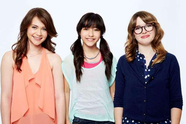 power puff girls 2015 Amanda Leighton as Blossom, Kristen Li as Bubbles, and Natalie Palamides as Buttercup