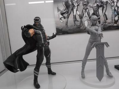 Magneto & prototype Magik - photo by WAG (c)