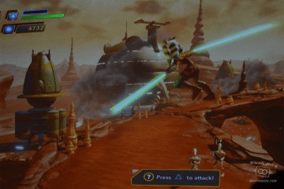 Star Wars: Twilight of the Republic Gameplay