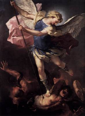 """St. Michael"" by Luca Giordano."