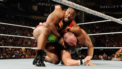 The New Day vs Dudley Boyz