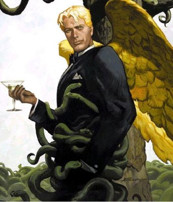 "Lucifer Morningstar of Mike Carey's ""Lucifer"" series"