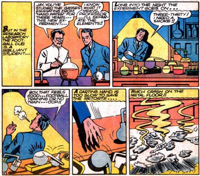 The secret origin of The Flash!