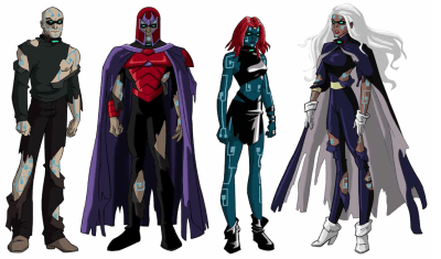 the series' version of the Four Horsemen of Apocalypse.