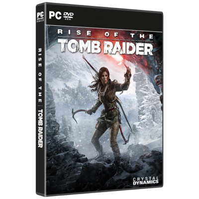 Rise of the Tomb Raider box case