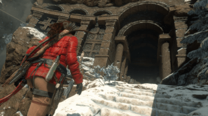 Rise of the Tomb Raider tomb