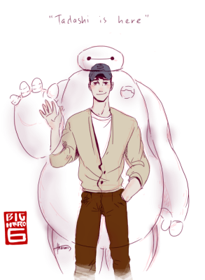 MAX BAE AND BAYMAX