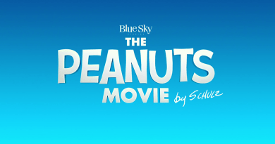Peanuts Movie title screen
