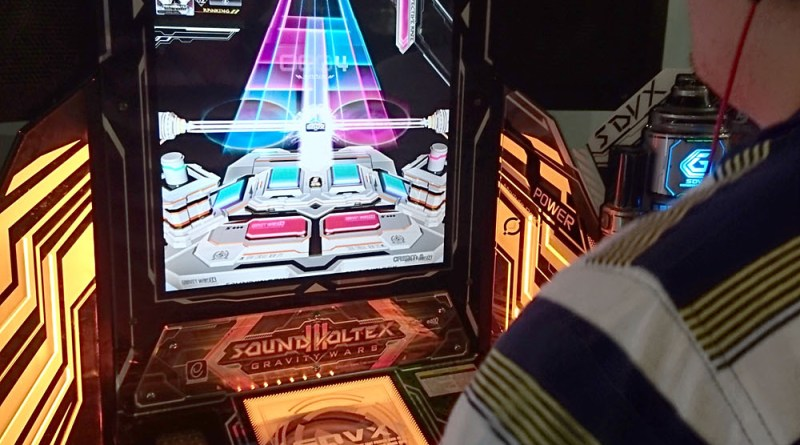 Konami Location Tests New Arcade Games Sound Voltex and Museca in