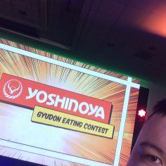 Yoshinoya Gyudon Eating Contest Winner (me lol)