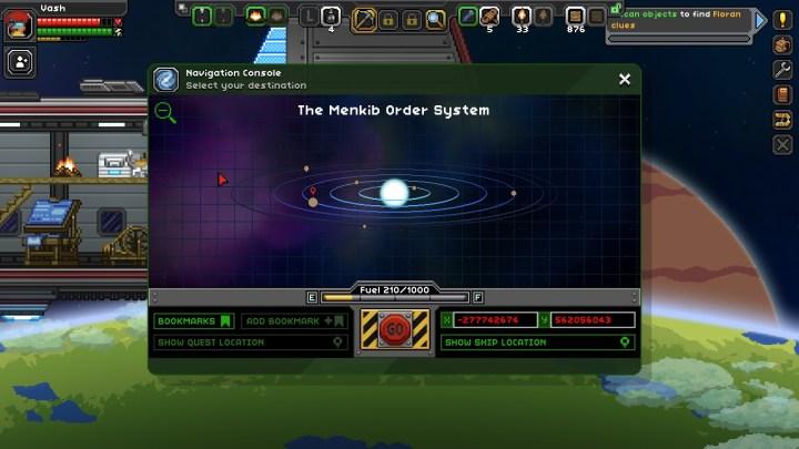 Starbound Solar System