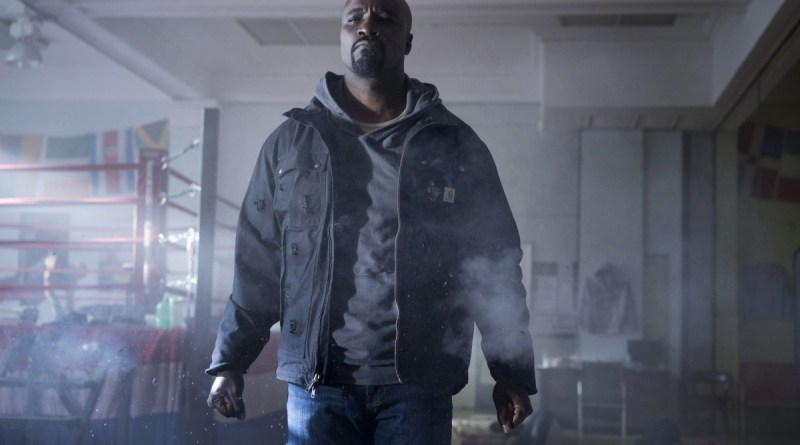 Luke Cage in the new teaser from his upcoming Netflix series.