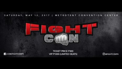 Fight Con (Geek Events May 2017 Philippines)