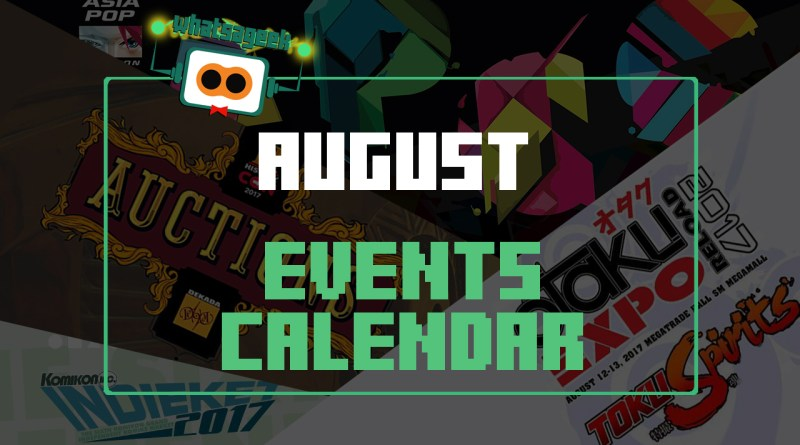 August Events and Happenings
