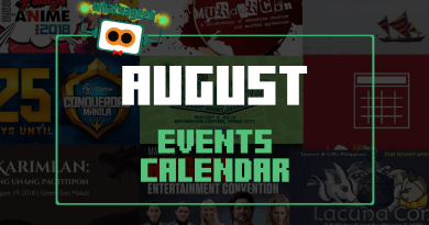 August 2018 Events and Happenings Calendar