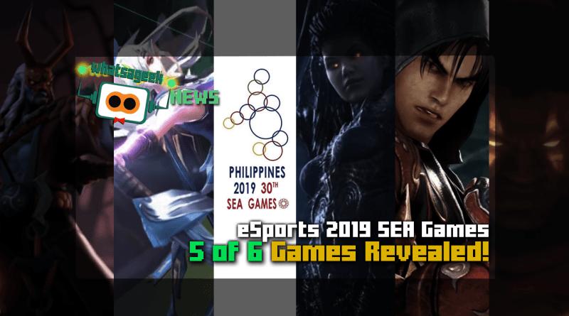 eSports SEA Games 2019