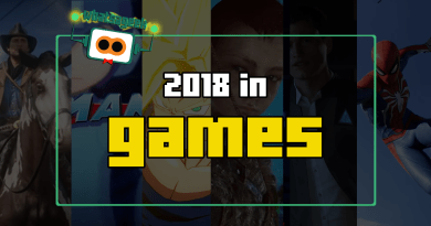 What's A Geek! presents 2018 in Games!