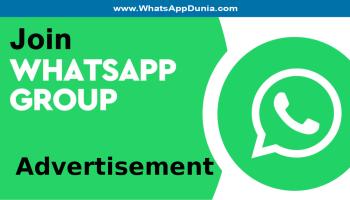 Advertisement WhatsApp Group Links
