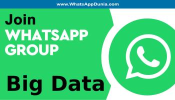 Big Data WhatsApp Group Links