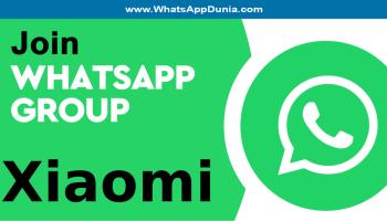 Xiaomi WhatsApp Group Links
