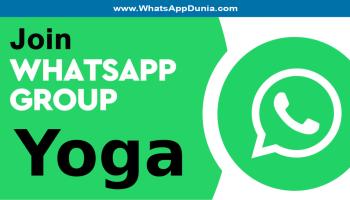 Yoga WhatsApp Group Links