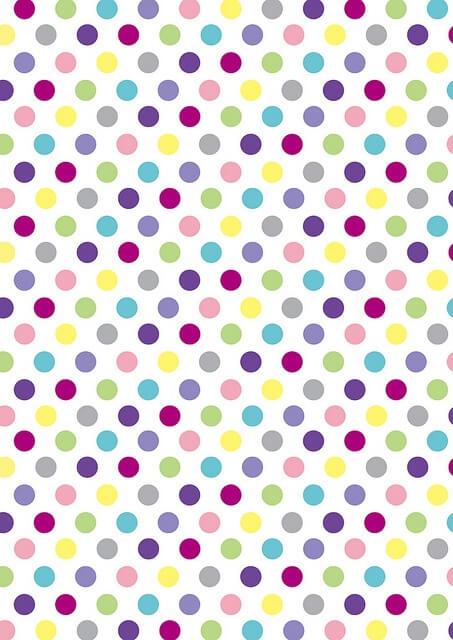Polka Dot Wallpaper Iphone Trocar Papel De Parede Para Whatsapp
