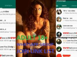 999+ ADULT 18+ WHATSAPP GROUP JOIN LINK LIST