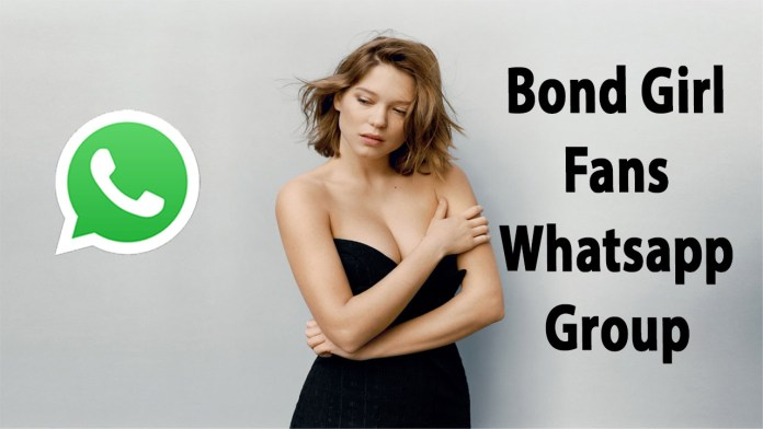 Bond Girl Fans Whatsapp Group Link