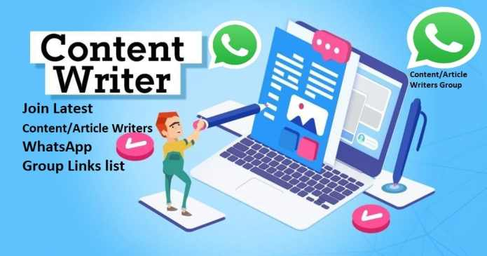 Content writing Whatsapp Group Links