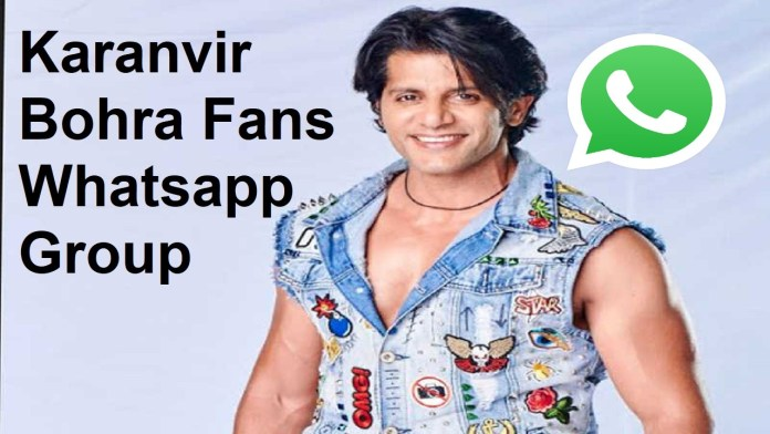 Karanvir Bohra Fans Whatsapp Group Link