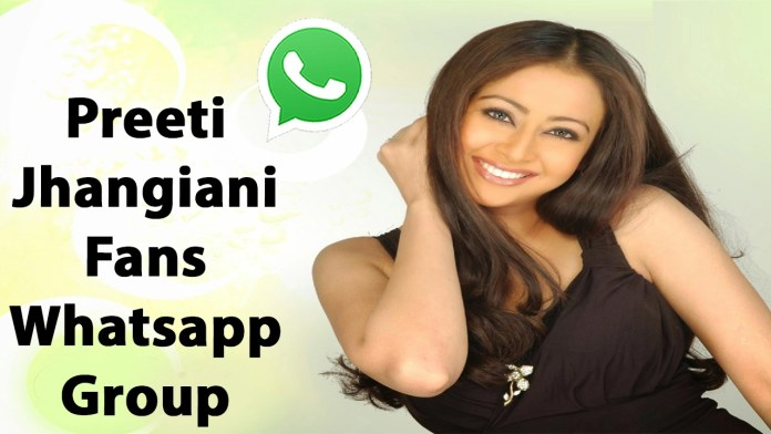 Preeti Jhangiani Fans Whatsapp Group Link