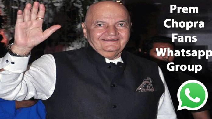 Prem Chopra Fans Whatsapp Group Link