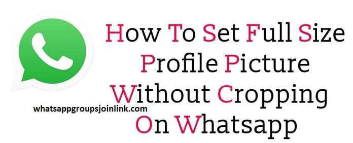 how to change whatsapp profile picture(dp) ?