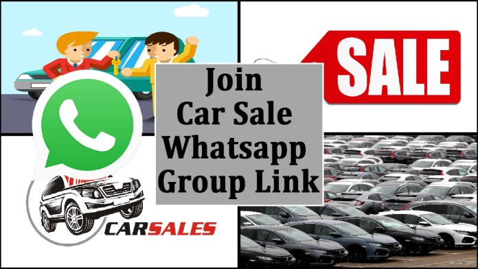 Join Car Sale Whatsapp Group Link