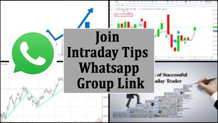 Join Intraday Tips Whatsapp Group Link