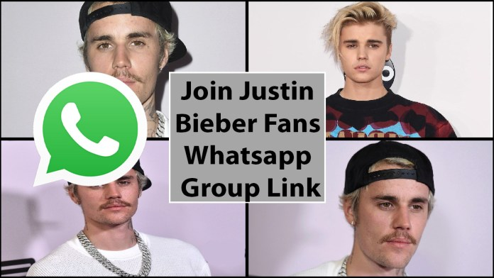 Join Justin Bieber fans whatsapp group link