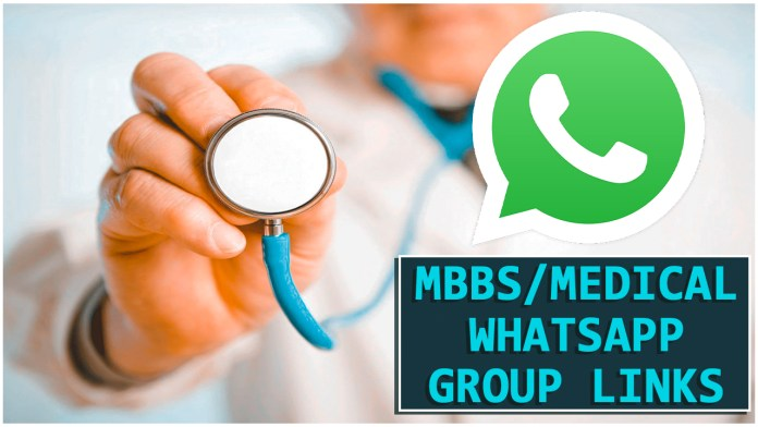 MBBS/MEDICAL WHATSAPP GROUP LINKS