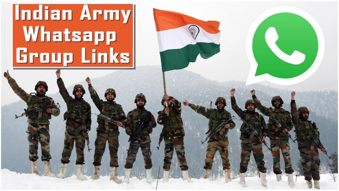 Indian Army Whatsapp Group Links