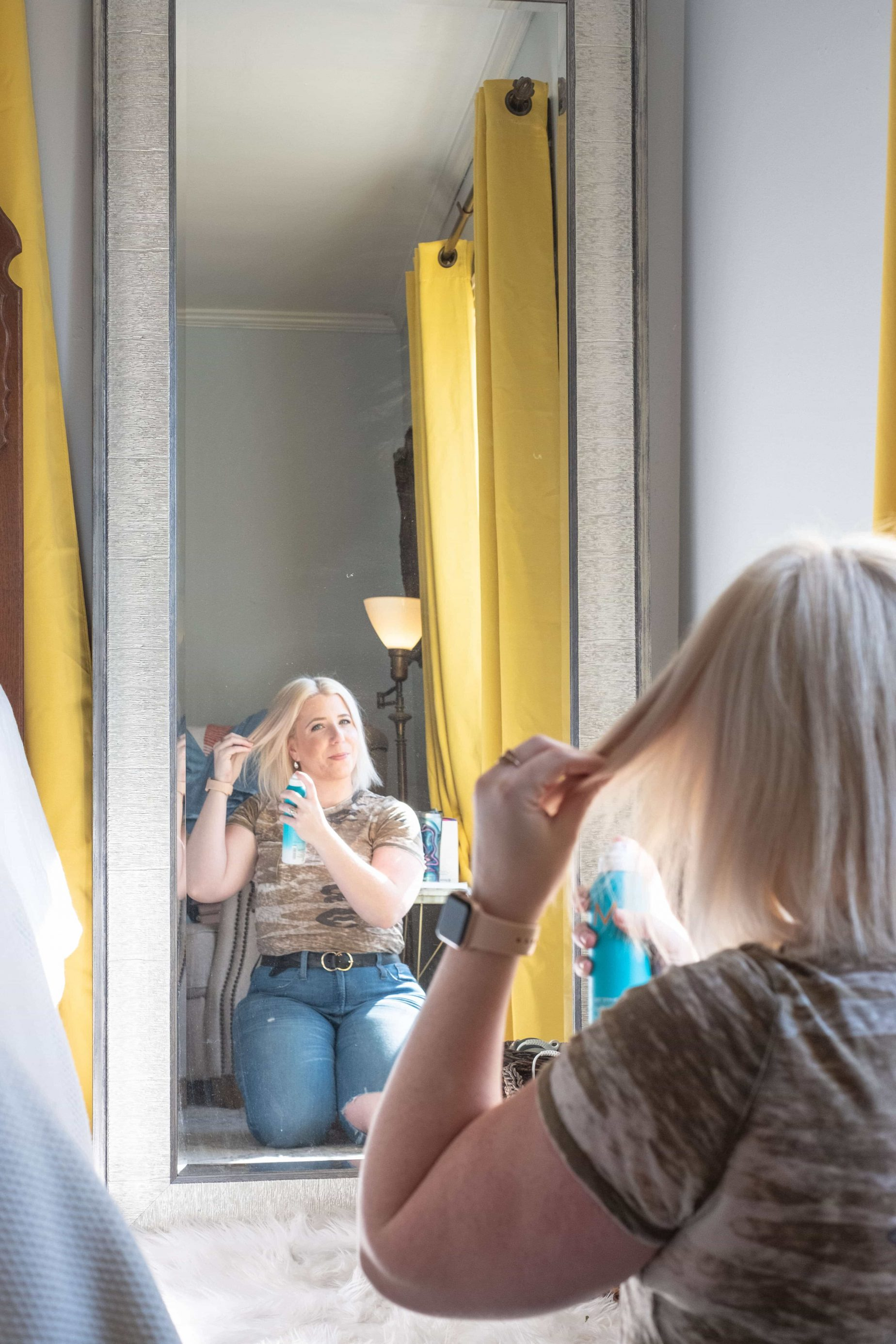 Best Dry Shampoo For Blonde Hair #whatsavvysaid #beautyblogger #dryshampoo #dryshampooforblondehair #blondehair #moroccanoil #whiteblondedryshampoo