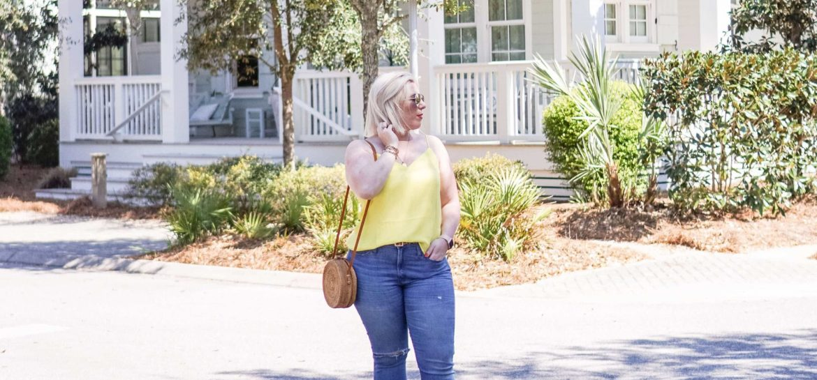 How To Know When You Need To Let Go #whatsavvysaid #wellnessblogger #lifeadvice #watercolor #springfashion #petiteblogger #springstyle #Strawbag