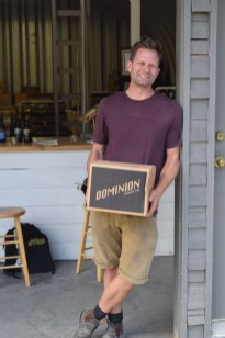 Co-Owner Mike Harris at Dominion Cider