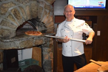 Chef James Bryan at the Kettle Valley Station Pub