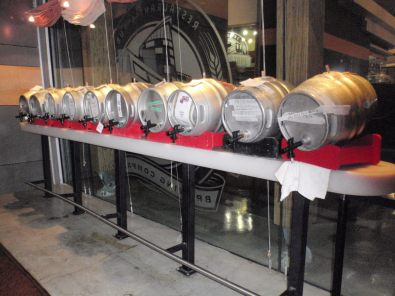 Casks on tap
