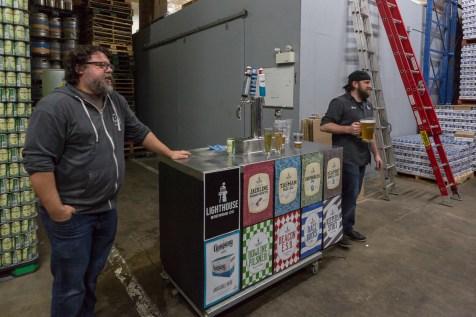 Tour at Lighthouse Brewing
