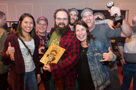 Oct 2017 - Mount Arrowsmith wins Brewery of the Year at BC Beer Awards in its first year